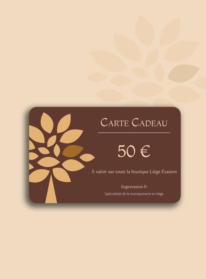 carte cadeau de 50 euros liege evasion
