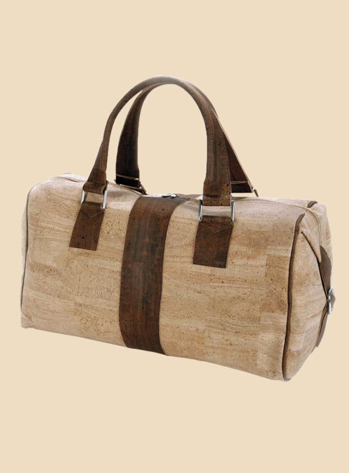 sac de voyage en liège couleur naturel modèle oberon